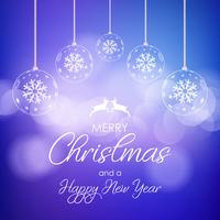 Decorative Christmas and New Year background
