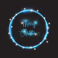Fond de lumières de Noël