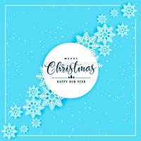 blue snowflakes background for christmas and winter season