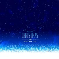 beautiful christmas winter snowfall background with text space