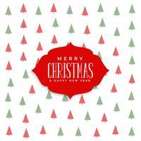 elegant christmas tree pattern background