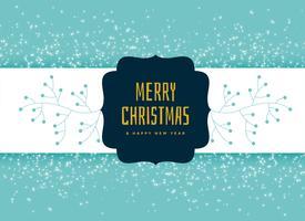 merry christmas decorative background design