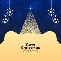 Abstrakt Gott julgran dekorativ bakgrund