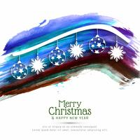 Fondo abstracto feliz celebración festival de Navidad