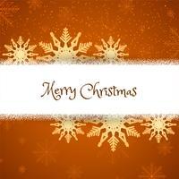 Fondo abstracto de feliz Navidad con copos de nieve