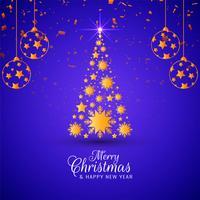 Abstrakter Festivalgrußhintergrund der frohen Weihnachten