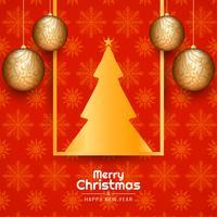 Schöner Hintergrund der abstrakten frohen Weihnachten Festival