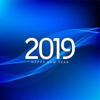 Abstrait Nouvel An 2019 beau fond