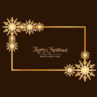 Abstract Merry Christmas decorative background