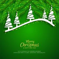 Decorative Merry Christmas celebartion background