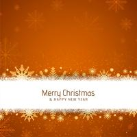 Abstract Merry Christmas decorative festival background