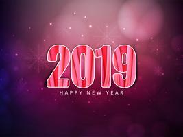 Résumé de fond de célébration du nouvel an 2019