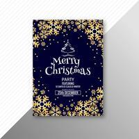 God juljubileumskort broschyrmall