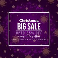 Elegant Merry Christmas big sale background