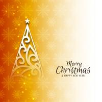 Abstract Merry Christmas celebration elegant background