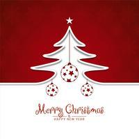 Abstract Merry Christmas celebration elegant background