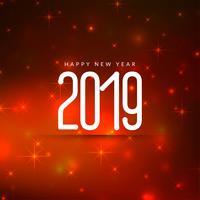 Eleganter guten Rutsch ins Neue Jahr-Grußhintergrund 2019