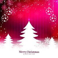Abstract stylish Merry Christmas festival background