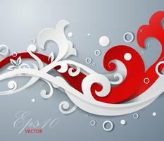 Fundo vector ornamentais