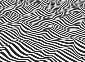 Vector abstracte op-art.