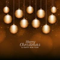 Fondo de saludo abstracta feliz celebración de Navidad