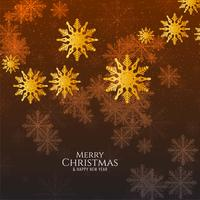 Abstrakter stilvoller dekorativer Hintergrund der frohen Weihnachten