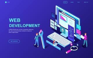 Banner Web di sviluppo Web