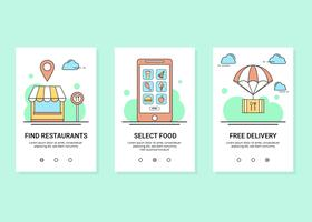 Online Food Order Vector