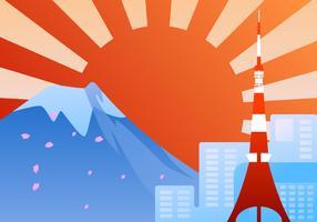Verbluffende Tokyo vectoren