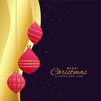 nice christmas festival beautiful greeting card