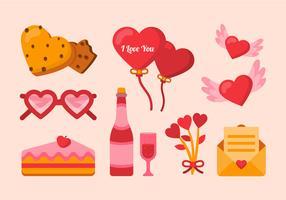 Valentijn elementen instellen