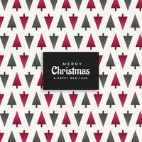 christmas tree pattern design background