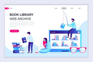 Book Library Web Banner