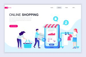 Banner Web Shopping online