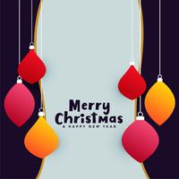 merry christmas celebration greeting background