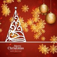 Feliz Natal festival fundo saudação de celebração