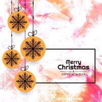 Abstract Merry Christmas elegant background