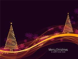 Merry Christmas festival celebration greeting background vector