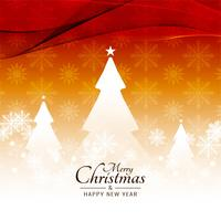Abstract Merry Christmas festival beautiful background vector
