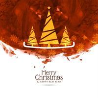 Abstrakt God jul dekorativ bakgrund