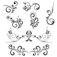 Swirls floreali