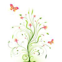 Blom bakgrund