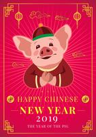 Chinese New Year Pig Concept