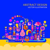 Illustration vectorielle Design abstrait