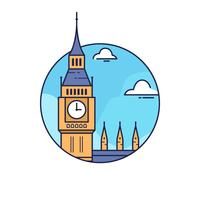 Big Ben London vector