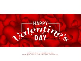 Abstract Happy Valentine's Day background