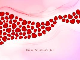 Abstract Happy Valentine's Day lovely background