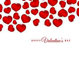 Abstract Happy Valentine's Day elegant stylish background