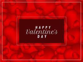 Resumen elegante feliz día de San Valentín elegante fondo
