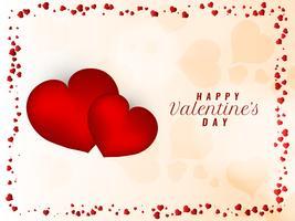 Astratto bella felice San Valentino sfondo